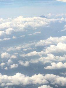 飛行機から空