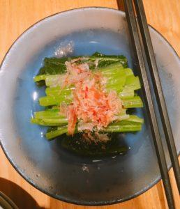 小松菜おひたし